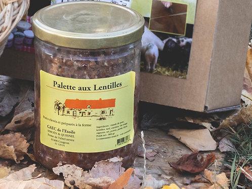 Palette aux Lentilles