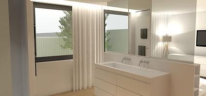 extension, architecture d'interieur, lille, salle de bain, chambre