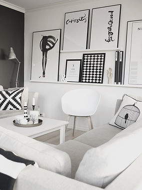 inspiration decoration black and white