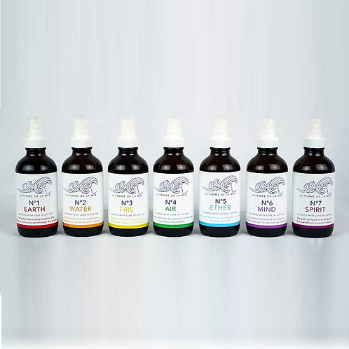 The 7 Chakras Essential Oil Mist Collection