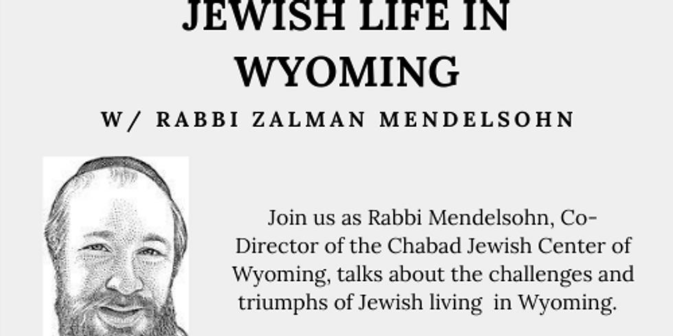 Jewish Life in Wyoming- Wyoming's Mosaic of Faith