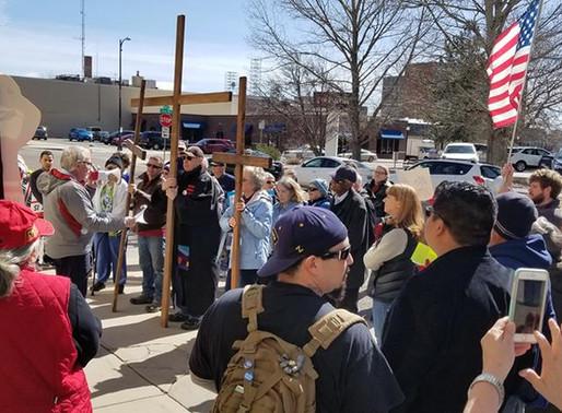 Good Friday Interfaith Prayer Vigil and March, Friday, March 30, 2018.