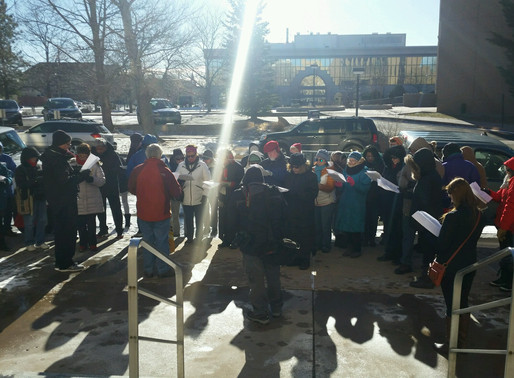 Martin Luther King, Jr. Equality Day Interfaith Immigration Justice Prayer Vigil, January 15, 2018