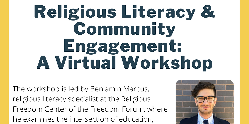 Religious Literacy and Community Engagement: A Virtual Workshop