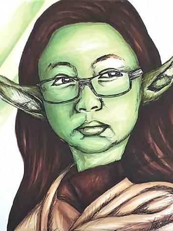 Yoda Self Portrait Circa '13