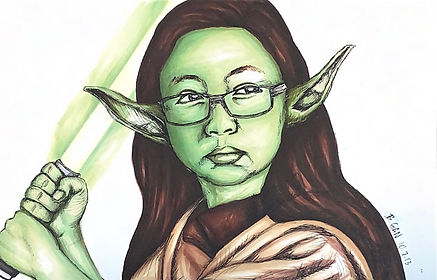 Yoda Self-Portrait