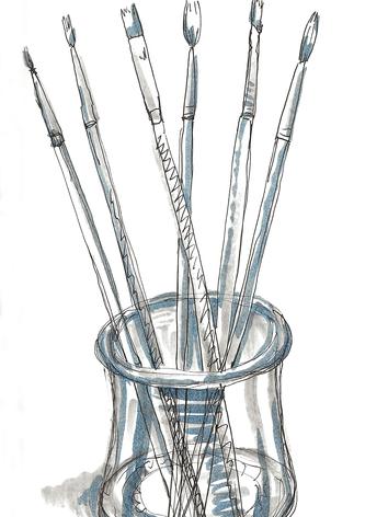 Jar-o-brushes