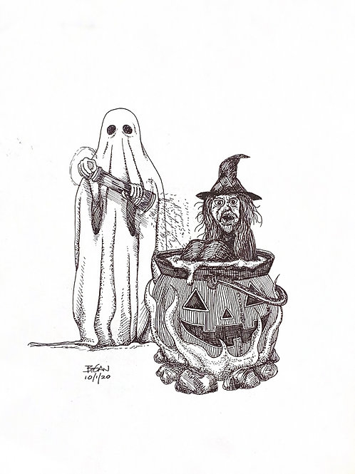 Seasoning of the Witch Print