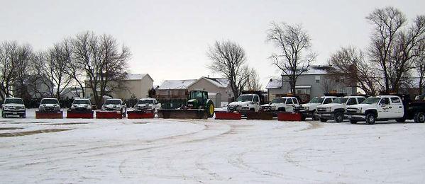 KCG Fleet Of Snow Removal In Shaumburg