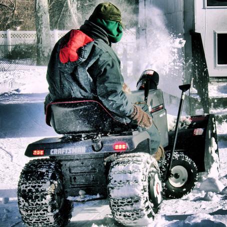 Snow Plow Crew Preparations