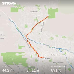 Bike Friendly Tucson
