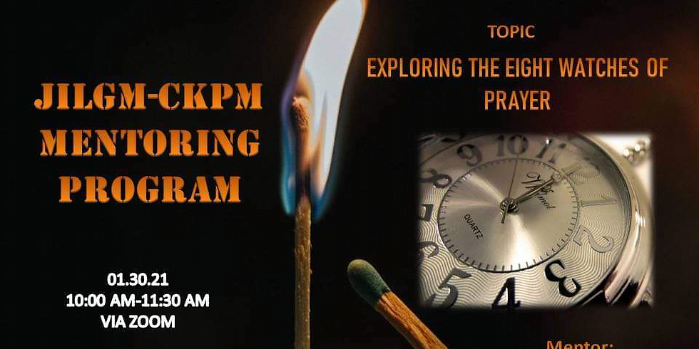 """""""Exploring the eight watches of prayer"""""""