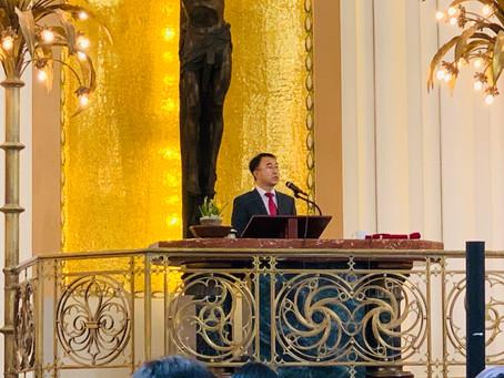 체코형제교단 총회장님 방문