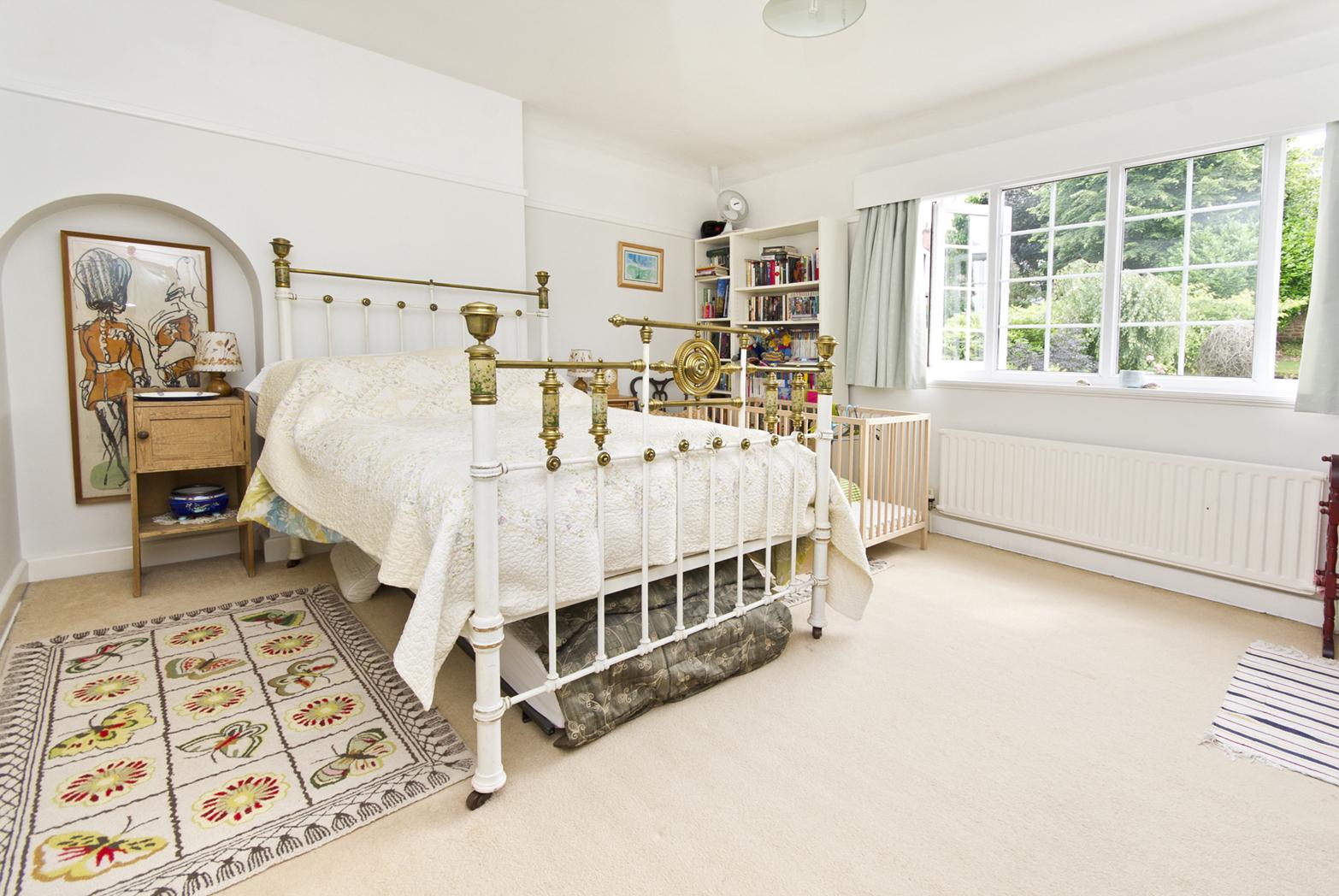 Bedroom interior from Talk Green
