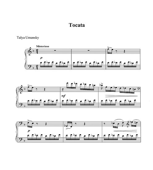 Toccata (from Book 8)