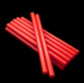 красные клеевые стержни 11 мм