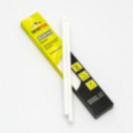 белые клеевые стержни 7 мм