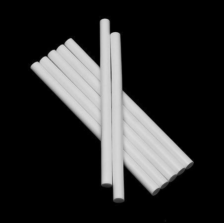 белые клеевые стержни 11 мм