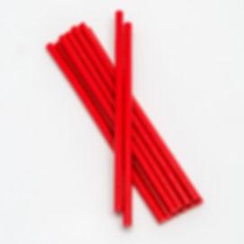 красные клеевые стержни 7 мм