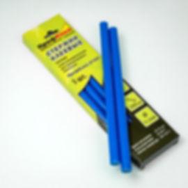 синие клеевые стержни 11 мм