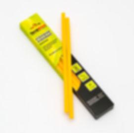 желтые клеевые стержни 7 мм
