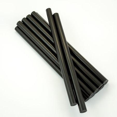 черные клеевые стержни 11 мм