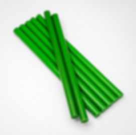 зеленые клеевые стержни 11 мм
