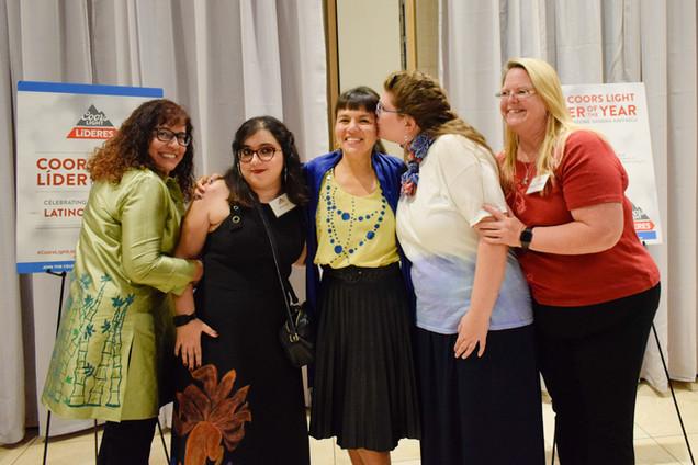 Devin, Liz, Sandra, Mariah and Amanda