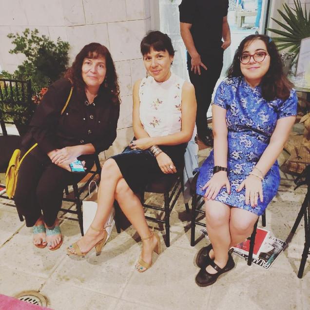 Devin, Liz and Director Sandra