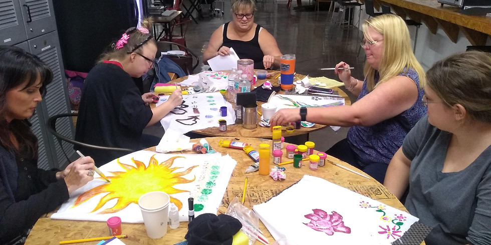 FashionAble - Fabric Painting Session
