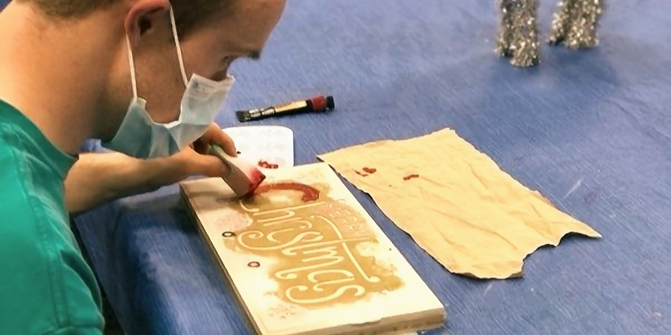 Positive Affirmations - Wood Board Making Activity