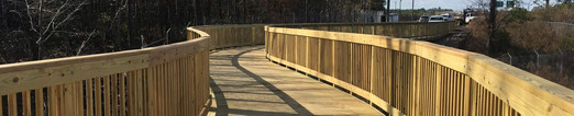 Pedestrian Bridge Camp Lejeune, NC