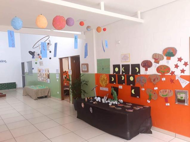 Uma galeria viva