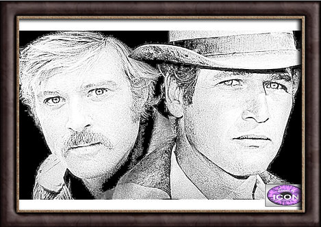 Butch Cassidy and The Sundance Kid (Paul Newman and Robert Redford)