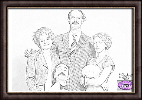 Fawlty Towers Main Cast