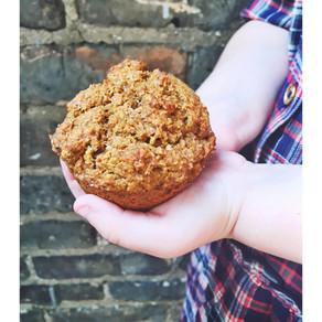 Baking with Baby: Vegan Pumpkin Muffins