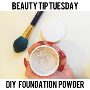 Beauty Tip Tuesday: DIY Foundation Powder