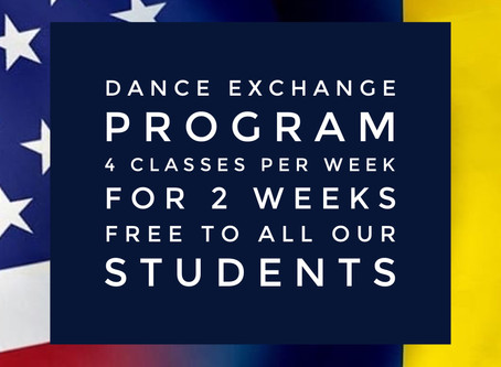 Teacher Dancer Exchange!