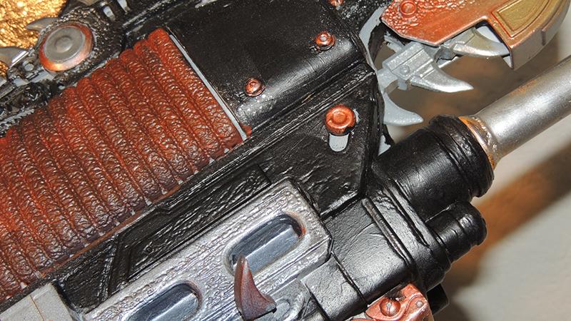 detail armure Gears of War 4
