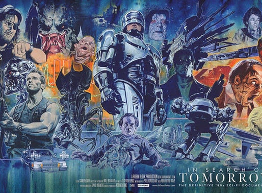 Documentário dos filmes de ficção científica da década de 80