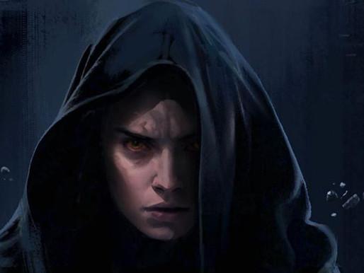 Rey no Dark Side em concept de Rise of Skywalker