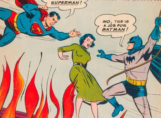 Batman e Superman em primeiro crossover