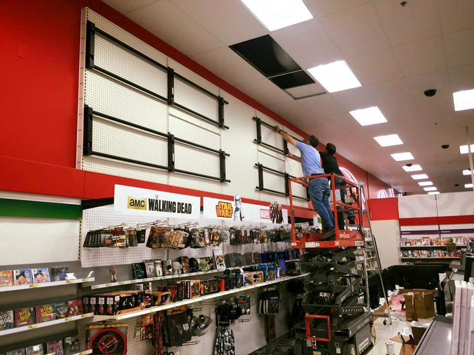 Target Video Wall Prep
