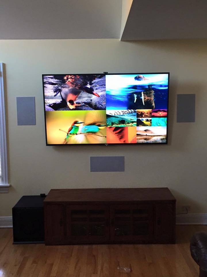 TV and Speaker Installation