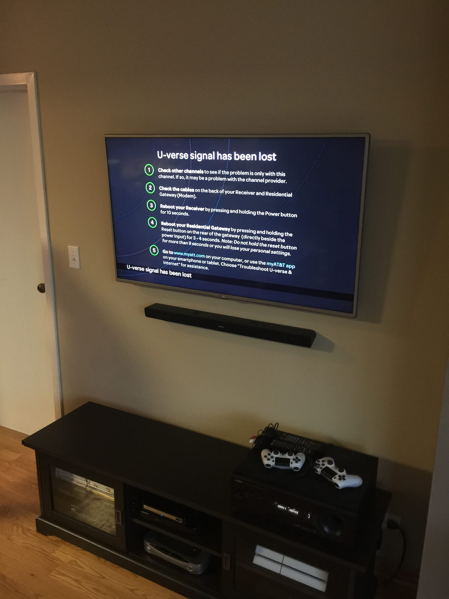 TV Installation + Soundbar