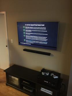 TV Installation + Soundbar