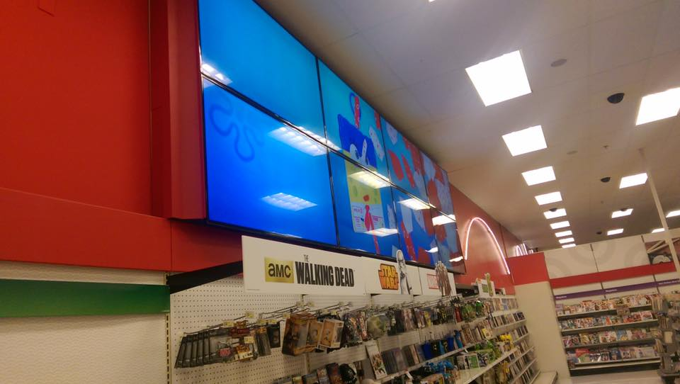 Target Video Wall Installation