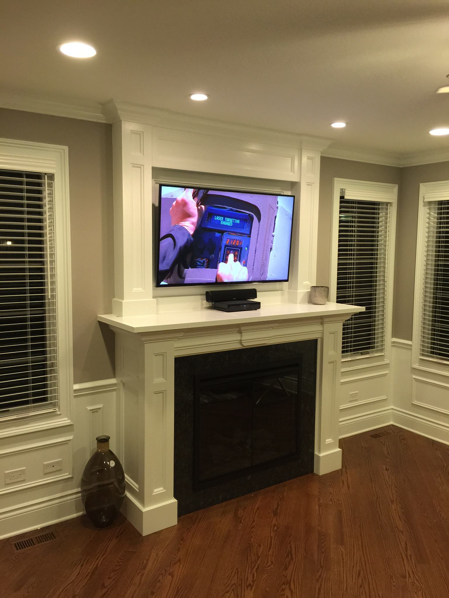 Fire place TV Installation