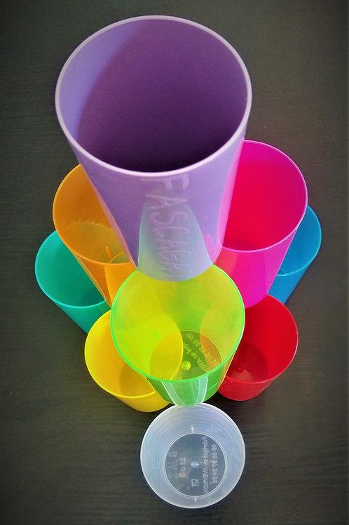 Gobelet plastique FASCAGAT, 25 cl.