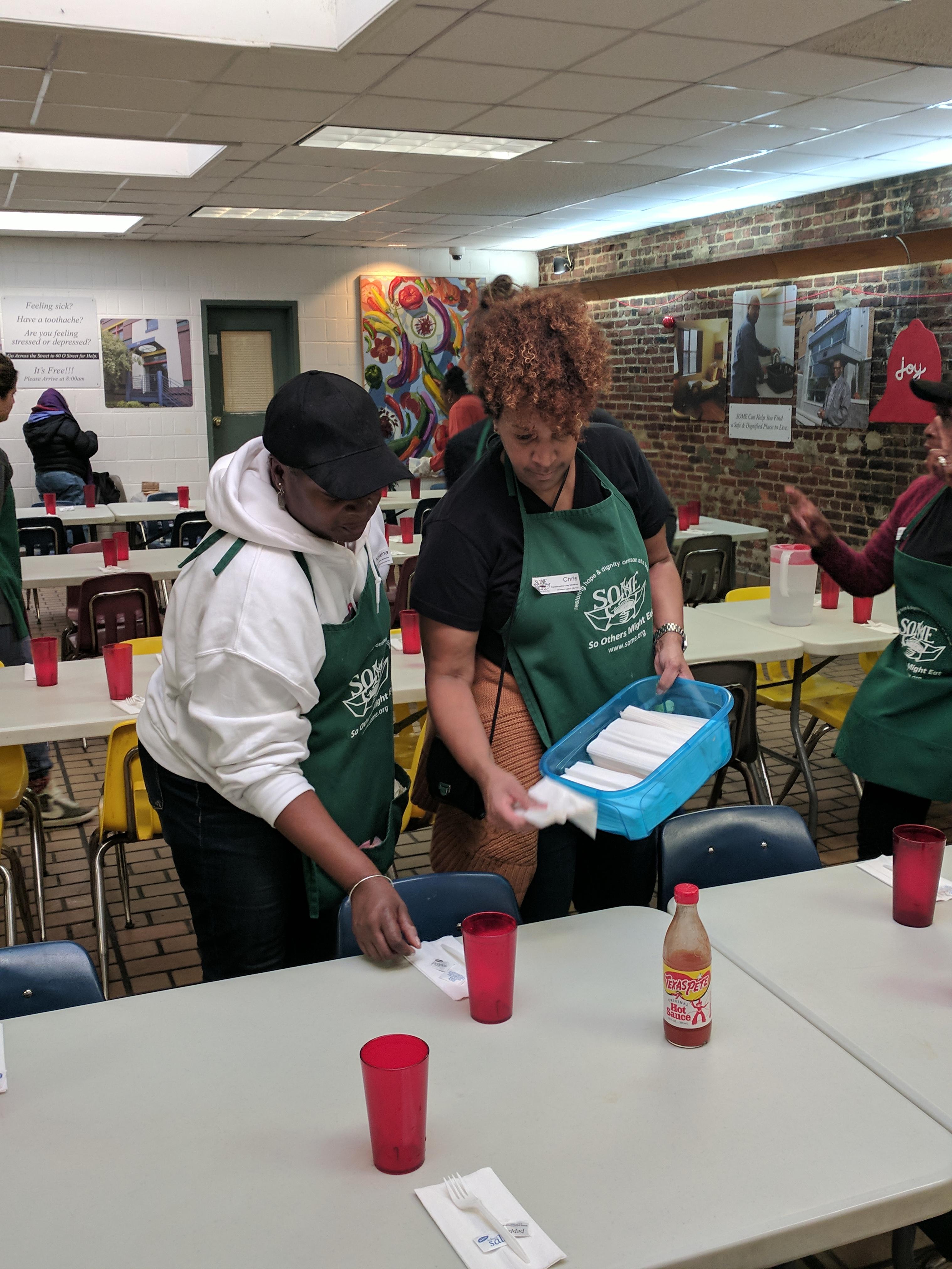 S.O.M.E. Volunteers